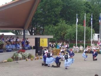 Võrumaa Folkloorifestival. Foto Veljo Laugamets