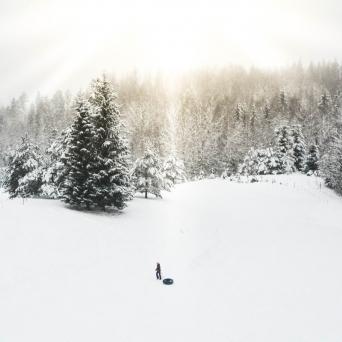 FJ1380 | Kirjeldus: Talv Võrumaal | Autor: Kaisa Äärmaa