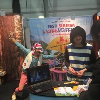 Tourest 2018 Puhka Eestis hall Võru Lastefestival