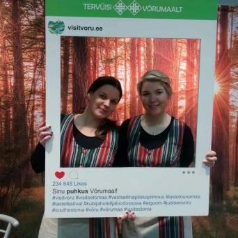 Tourest 2018 Puhka Eestis hall Võrumaa Turismiinfokeskus