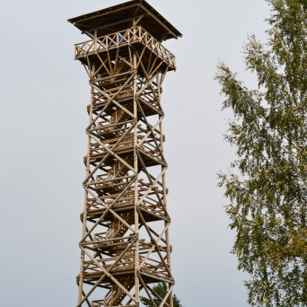 FJ1395 | Kirjeldus: Paganamaa Raadi vaatetorn | Autor: Kaisa Äärmaa